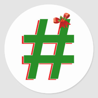 #Christmas #HASHTAG - Hash Tag Symbol