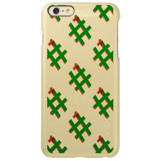 #Christmas #HASHTAG - Hash Tag Symbol Incipio Feather® Shine iPhone 6 Plus Case