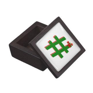 Christmas #HASHTAG - Hash Tag Symbol Premium Gift Box
