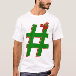 #Christmas #HASHTAG - Hash Tag Symbol T-Shirt
