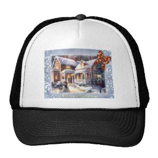 christmas trucker hat