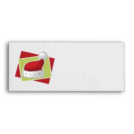 Christmas hat envelope