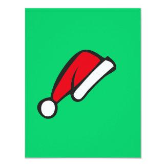 Christmas hat invites