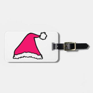 Christmas Hat Luggage Tag