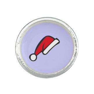 Christmas hat photo ring