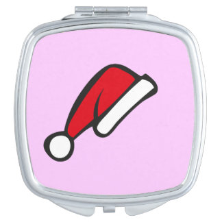Christmas hat makeup mirrors