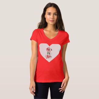 Christmas heart holiday t-shirt
