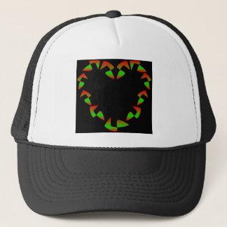 Christmas Heart Trucker Hat