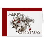 Christmas Hedgehog Greeting Card