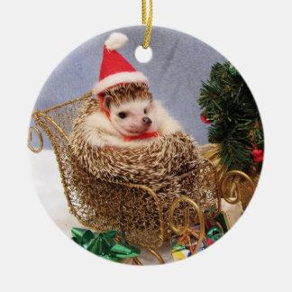Christmas Hedgehog Ornament