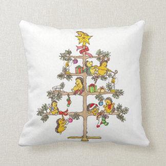 Christmas Hedgehogs Pillows