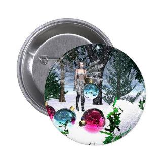 Christmas Helper Pinback Button