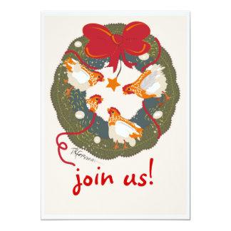 Christmas (hen) party Invitation
