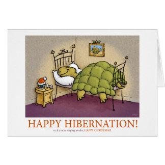 Christmas Hibernation Card