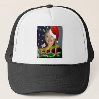 christmas hillary clinton trucker hat