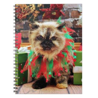 Christmas - Himalayan Cat - Pansy Journals