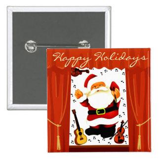 Christmas -Ho Ho Ho 2 Happy Holidays Pins