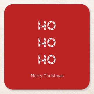 Christmas Ho Ho Ho Drinks Coasters