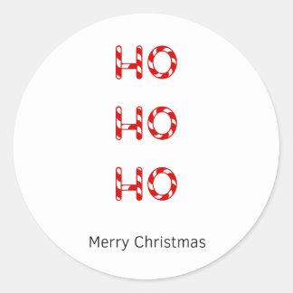 Christmas Ho Ho Ho Gift Wrapping Stickers
