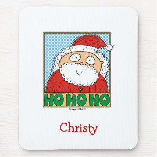 Christmas Ho Ho Ho Mouse Pad