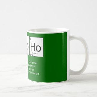 Christmas Ho Ho Ho Periodic table Mug