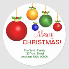 Christmas Holiday Address Labels at Zazzle