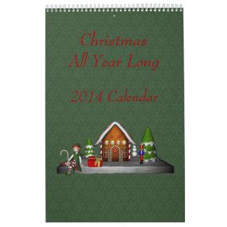 Christmas Holiday All Year Long 2014 Calendar