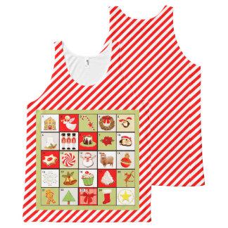 Christmas holiday apparel All-Over print tank top