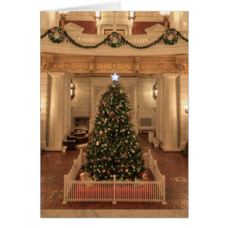 Christmas Holiday at Pennsylvania State Capitol Card
