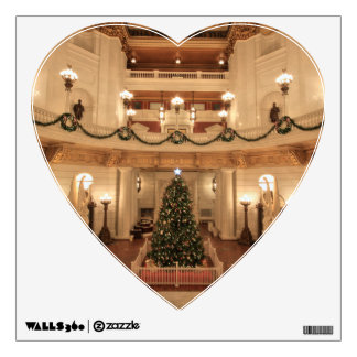 Christmas Holiday at Pennsylvania State Capitol Wall Decal