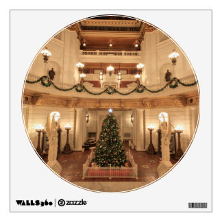 Christmas Holiday at Pennsylvania State Capitol Wall Sticker