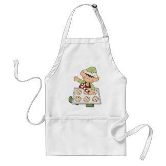 Christmas Holiday Baking Elf apron