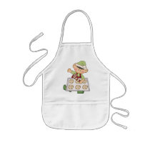 Christmas Holiday Baking Elf kids apron