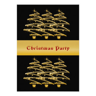 Christmas holiday business party invite