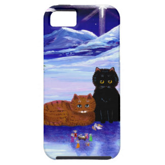 Christmas Holiday Cat Mouse Christian Religious iPhone SE/5/5s Case