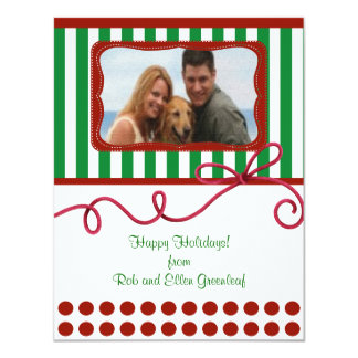 Christmas Holiday Custom Personalized Photo Fun Card