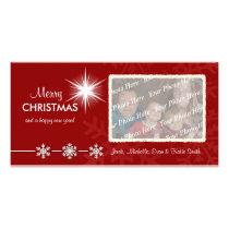 Christmas Holiday Customized Photo Cards