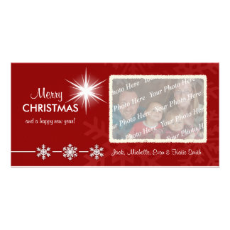 Christmas Holiday Customized Photo Cards