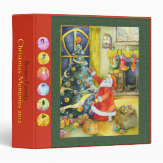 Christmas Holiday Cute Family Photo Book Binders
