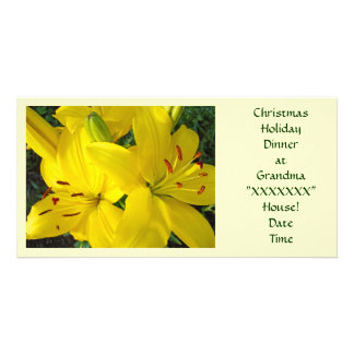 Christmas Holiday Dinner at Grandma's House! Picture Card