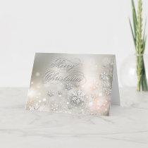 Christmas Holiday Elegant Snowflake
