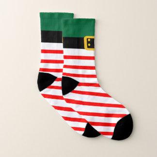 Christmas Holiday Elf All-Over-Print Socks