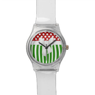 Christmas Holiday Festive Design Wrist Watches