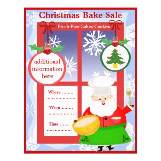 Christmas Holiday Function Custom Flyer