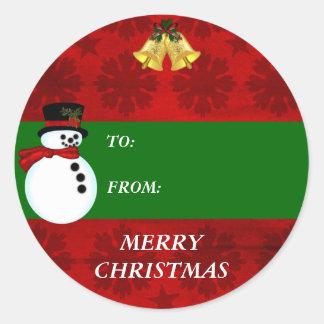 Christmas Holiday gift tag