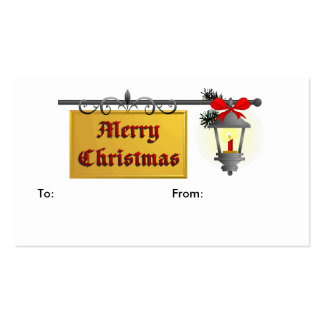 Christmas & Holiday GIFT TAGS Business Cards