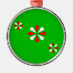 Christmas Holiday Green Ornament