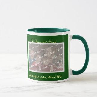 Christmas Holiday Greetings Photo Mug