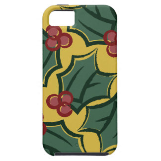 Christmas Holiday Holly Berry Phone Case