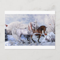 Christmas Holiday Horses